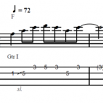 Blues Lick F – No.1