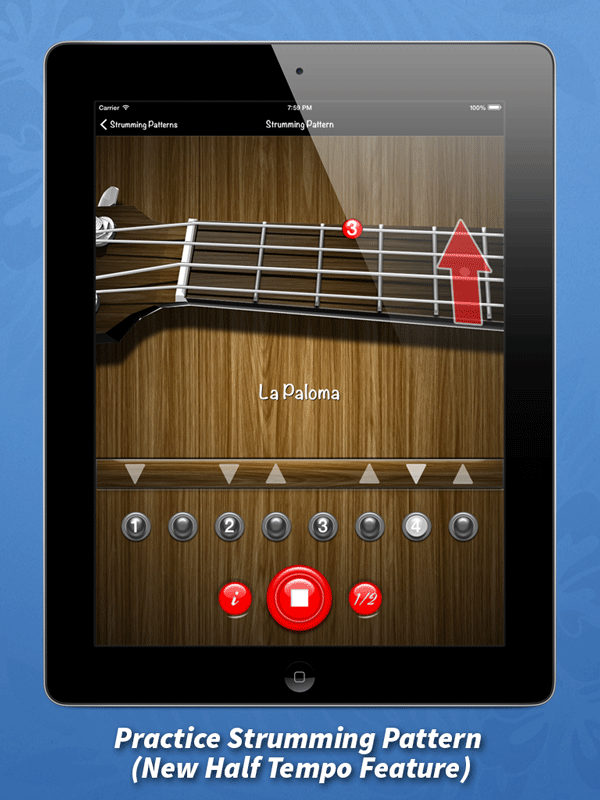 Ukulele-Strumming-Pattern