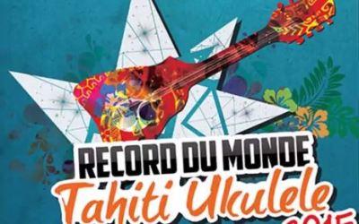 Ukulele World Record 2015